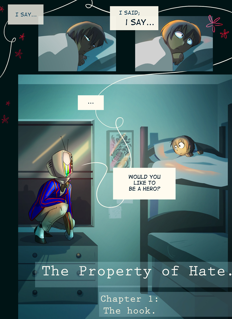 The Hook: Page 1